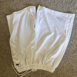adidas Bottoms - Adidas Clima365 white shorts boys med